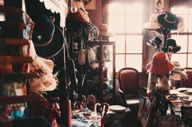 hoarding room
